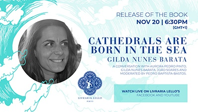Gilda nunes cockroach launches book with unpublished poems edited by bookstore lello